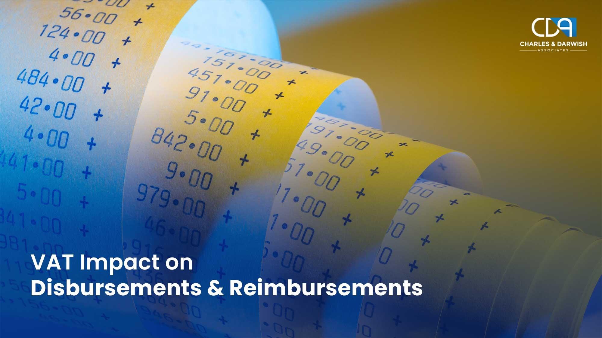 Vat Impact On Disbursements And Reimbursements