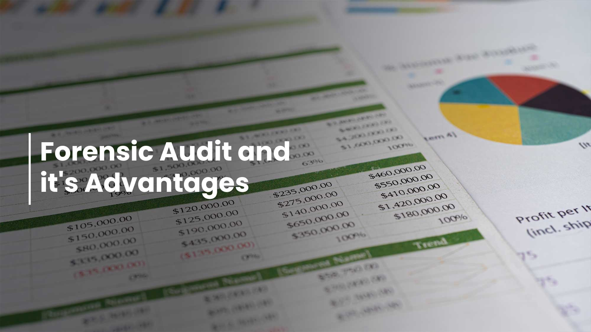 Forensic Audit And Its Advantages